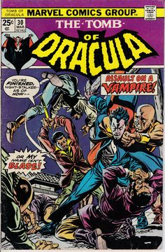 Tomb of Dracula 30  March 1975 Issue  Marvel Comics  Grade