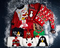 Make merry with our range of Christmas jumpers Christmas Jumpers, Christmas Sweaters, Christmas 2014, Christmas Ornaments, Merry, Range, Holiday Decor, How To Make, Kids