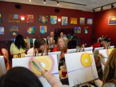 PINOT'S PALETTE. STATEN ISLAND. PAINT. DRINK. HAVE FUN.