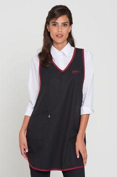 Maid Uniform, Mantel, Vest, Uniform Ideas, Jackets, Aprons, Wellness, Dresses, Fashion