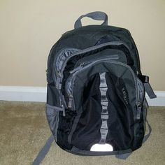 Embark backpack Gray and black embark backpack...only thing that's wrong with it is one side strap is broken but doesn't effect the functionality of the bag embark Bags Backpacks