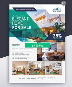Top 10 Real Estate Flyer Templates and Examples 2019 - Adobe . - Top 10 Real Estate Flyer Templates and Examples 2019 – Adobe … - Graphic Design Flyer, Ad Design, Brochure Design, Flyer Design, Real Estate Ads, Real Estate Flyers, Real Estate Marketing, Real Estate Banner, Page Layout Design