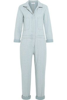MiH Jeans The Arconaut cotton-chambray jumpsuit | NET-A-PORTER