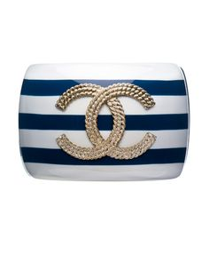 Metal and resin regatta bracelet, Chanel, $1,625, at select Chanel Boutique nationwide
