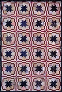 Old Glory made by Judy Martin for her book, Yes You Can! Make Stunning Quilts from Simple Patterns