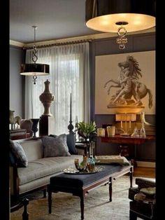 Dark and Handsome, Den or Living Room