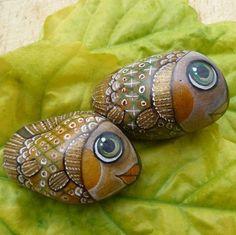 Pán a paní Rybovi - painted rocks i love