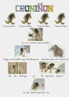 educacion infantil silvio abad: proyecto prehistoria
