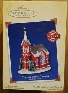 Central Tower Church - 2005 Hallmark Ornament - Candlelight Services Religious  #Hallmark