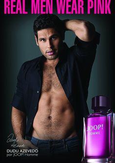 Joop! Homme: Dudu Azevedo é o novo embaixador do perfume.
