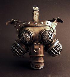 Ragnarök Gas Mask By Tom Banwell