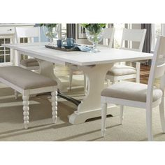 Liberty Furniture Wheaton Trestle Table