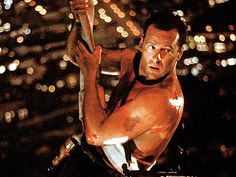 """Bruce Willis - """"Die Hard"""" (1988) The first and still the best one."""