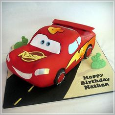 Lightning MacQueen Cars Cakecakes Más