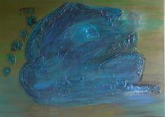 acrylique sur toile, jeu de couleurs et superpositions de couleurs
