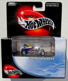 HOT WHEELS 100% LIMITED EDITION FUEL ALTERED RACER #21
