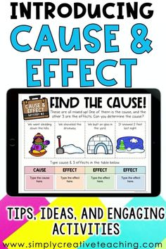 Check out this informative blog post about how to teach 1st, 2nd, and 3rd grade students about cause and effect with mysteries! Students will love the interactive cause and effect lessons about solving mysteries filled with fun activities! This mini-unit contains activities, reading passages, worksheets, puzzles, graphic organizers, MYSTERIES! Both printable and digital versions! Perfect for distance learning or in-person instruction. Read all about cause