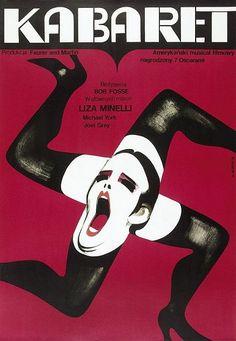 Kabaret / Cabaret - original first edition of the poster, designer: Wiktor Górka year: 1973