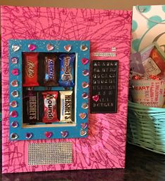 Valentine's Day Vending Machine Box I made this with our little girl for Valentine's Day this year and she absolutely loved it. A little time and work went into it but it was well worth it.