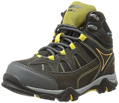 Hi-Tec Altitude Lite I Waterproof JR Hiking Boot (Toddler/Little Kid/Big Kid),Charcoal/Black/Sunray,3.5 M US Little Kid *** Want additional info? Click on the image.