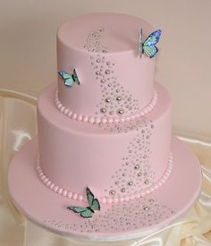 Girls Birthday Cakes | Source: http://birthdaycakespictures.com/Pink-girl-birthday-cake.html