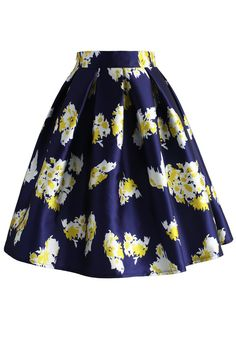My Posh and Posies Skirt - New Arrivals - Retro, Indie and Unique Fashion