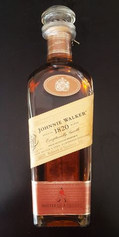 Johnnie Walker 1820 was a one off limited edition for the Japanese market… Whiskey Label, Whiskey Brands, Whisky Bar, Cigars And Whiskey, Scotch Whiskey, Liquor Drinks, Wine And Liquor, Wine And Beer, Fun Drinks