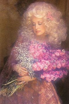 oh Dolly....you and your crazy hair.