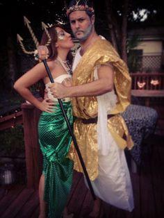 Neptun Kostüm selber machen | Kostüm Idee zu Karneval, Halloween & Fasching