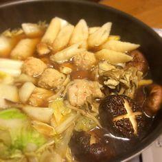 寒いから、鍋! - 6件のもぐもぐ - きりたんぽ鍋 by chibimarco