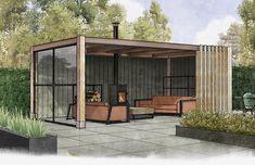 Backyard Pavilion, Backyard Patio Designs, Backyard Landscaping, Gazebo, Pergola Patio, Backyard Kitchen, Outdoor Kitchen Design, Pool Landscape Design, Garden Design