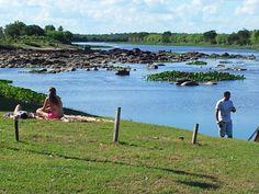 Puerto Naranjahai - Rio Manduvira - Depto. Cordillera - Paraguay