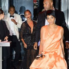 Solange & Jay Z from Famous Family Feuds | E! News