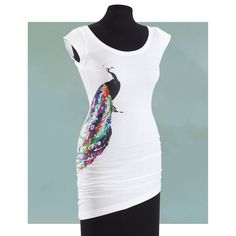 Peacock Tank Dress - New Age, Spiritual Gifts, Yoga, Wicca, Gothic, Reiki, Celtic, Crystal, Tarot at Pyramid Collection