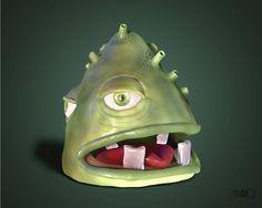 Little monster base in concept art of Paride Bertolin.