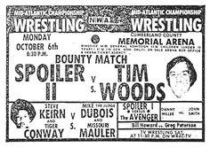 Spoiler II in the Mid Atlantic Area was another famous wrestler--Paul 'Butcher' Vachon
