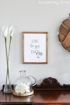 Oh happy day free printable