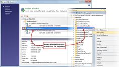 Transparent access - Access attached backups using SQL Server Management Studio, Visual Studio or any third party tool