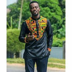 African Mens shirt African Clothing African Mens top African