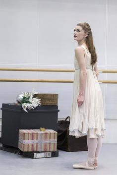 Anna Rose O'Sullivan in rehearsal for The Nutcracker, The Royal Ballet © 2015 ROH. Photograph by Andrej Uspenski