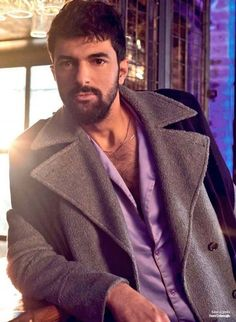 Handsome Faces, Turkish Actors, Life Magazine, Moustache, Actors & Actresses, Cool Photos, Husband, Blazer, Celebrities