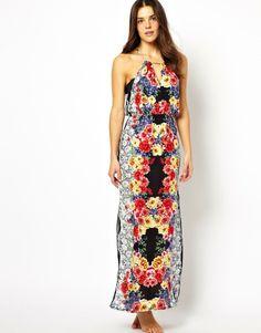 MinkPink Floral Maxi Dress on shopstyle.com