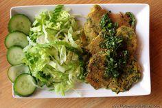 Zeleninové placičky s plantainovou moukou
