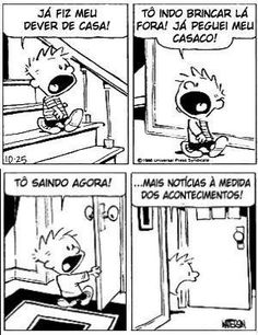 Calvin e o Dever de Casa