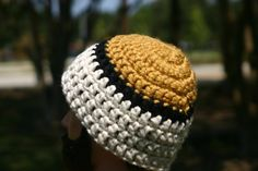 Game Day Beanie  Gold/Black/Nat.White  Men's by OneInEssence, $8.00