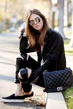 Chiara Ferragni com seu Dior Soreal  Lindo!
