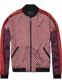 Giacca bomber stampata - Scotch & Soda