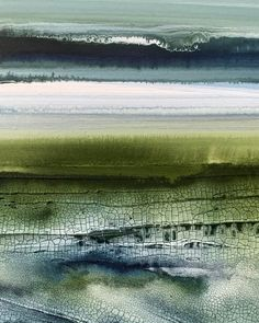Close up details of a new piece from my Landscape Drawings, Abstract Landscape Painting, Seascape Paintings, Watercolor Landscape, Landscape Art, Landscape Paintings, Acrylic Paintings, Abstract Art, Painting Trees