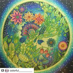 60 отметок «Нравится», 1 комментариев — Mandalas (@coloring_loves) в Instagram: «#Repost @colorful__________ (@get_repost) ・・・ Flower globe✨»