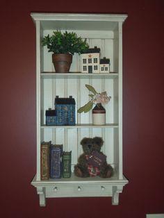 Love this little shelf.